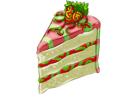 Meloberry Cake