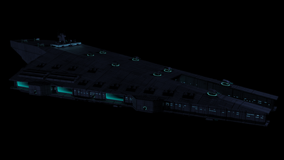 Union Anchor class render Kerkythea