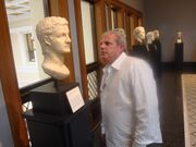 Joe Geranio and Caligula- Getty Villa