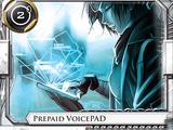 Prepaid VoicePAD
