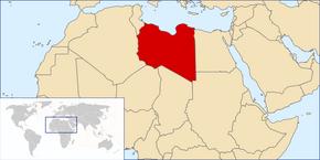 LokalizaziónLibia