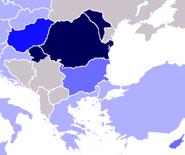 Lengua rumana como segunda lengua en el este de Uropa