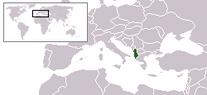 Lokalizazión Arbania