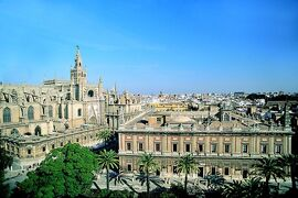 Cathedral and Archivo de Indias - Seville
