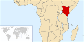 LocationKenya svg