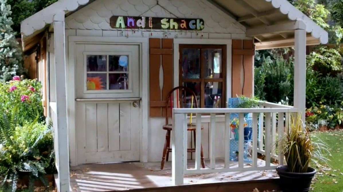 Andi shack andi mack wiki fandom powered by wikia for How to build a small shack