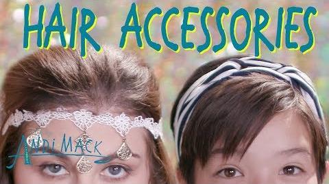 AnDIY Mack Hair Accessories Andi Mack Disney Channel