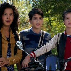 Andi, Buffy and Cyrus