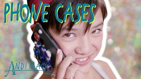 AnDIY Mack Phone Cases Andi Mack Disney Channel