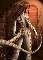 Dragonoid human