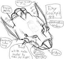 Exeralune concept art