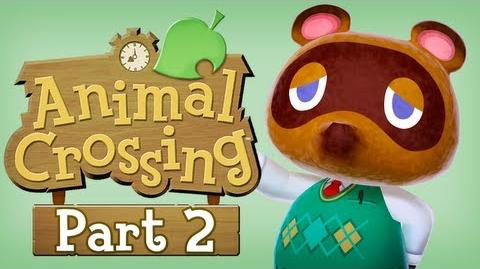 Animal Crossing New Leaf - Part 2 (Train Traveling)