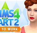 Let's Play The Sims 4: Get to Work - Part 2 (Selfie Galore)
