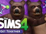 Let's Play The Sims 4: Get Together - Part 13 (Bear Night)