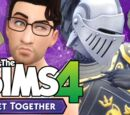 Let's Play The Sims 4: Get Together - Part 9 (Knight at the Arcade)