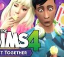 Let's Play The Sims 4: Get Together - Part 11 (Movie Hangout)