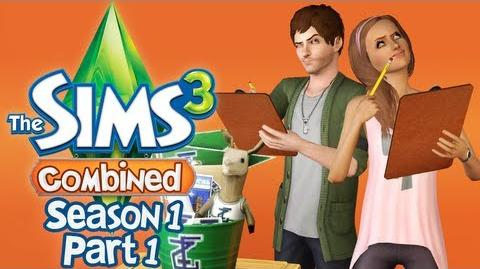 Let's Play The Sims 3 Combined - S1 P1 - (University Life)