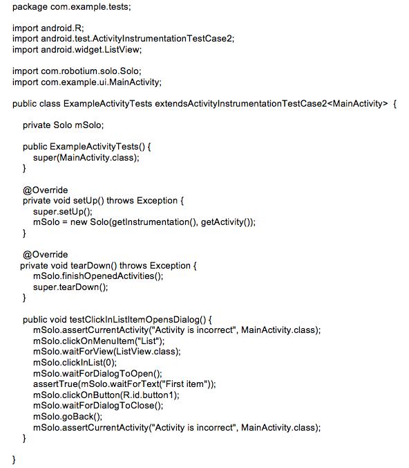 Robotium | Android Wiki | FANDOM powered by Wikia