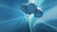 Rox Nava's ship in Slipstream S04xE12 The Spider's Stratagem