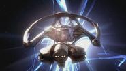 Rox Nava's ship exiting Slipstream S04xE12 The Spider's Stratagem
