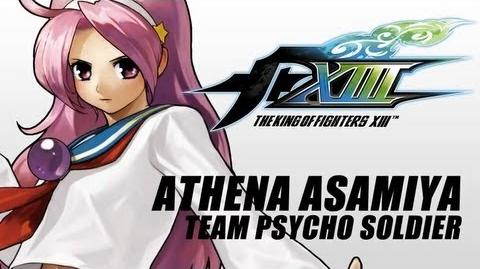 The King of Fighters XIII Athena Asamiya