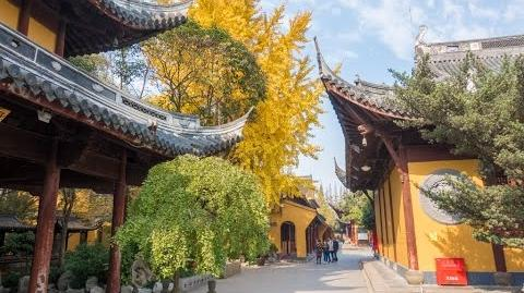 Longhua Temple, dedicated to Maitreya Buddha, Shanghai, China