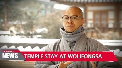 Temple Stay at Woljeongsa