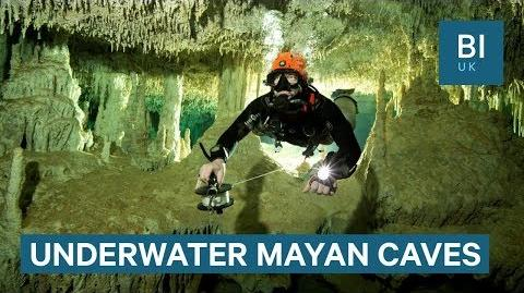 Divers discover 215-mile-long cave in Mexico full of Mayan relics
