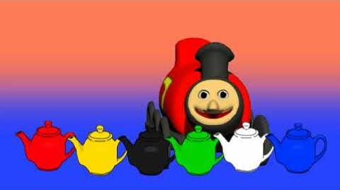 James the Steam Train Teapot Counting Game