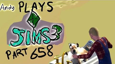 ANDY'S SIMS 3 LETS PLAY PART 2