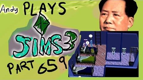 ANDY'S SIMS 3 LETS PLAY PART 3-0