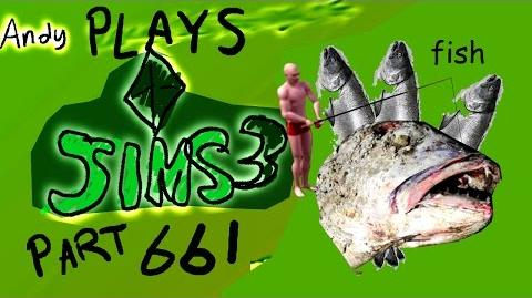 ANDY PLAYS THE SIMS 3 PART 5