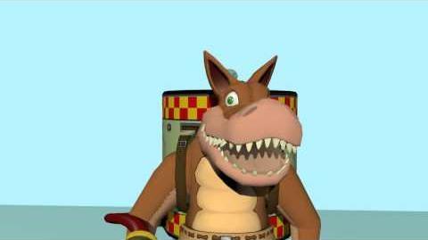 Dingodile Animation Test