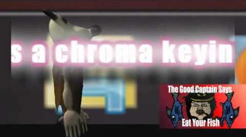 Gromitu, chroma keying test (new episode soon.)