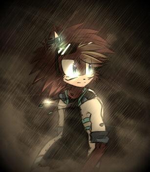Rainy doodle by darkkuri-d7aeqnk