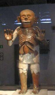 Mictlantecuhtli-statue