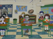 ANGELA ANACONDA S02E19 The Girl with All the Answers Good Seats 2-21 screenshot