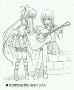 Dibujo de Yui Iwasawa por Na-Ga 01