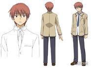 Otonashi anime design