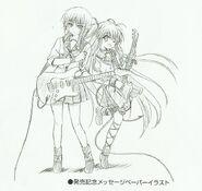 Dibujo de Yui Iwasawa por Na-Ga 02