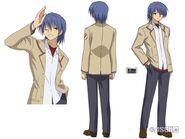 Hinata anime design