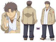 Matsushita anime design