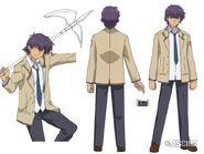 Noda anime design