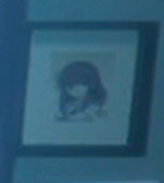 Yuri on wall