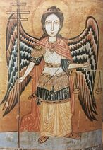 Coptic Icon of the Archangel Michael