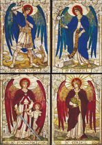 Four Archangels, St John's Church, Warminster, Wiltshire