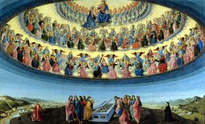 Francesco Botticini - The Assumption of the Virgin