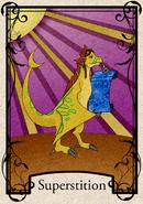 Superstition card
