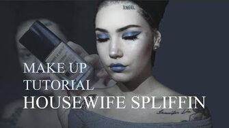 MAKEUP TUTORIAL Housewife Spliffin