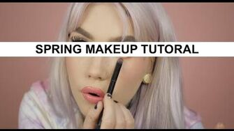 Spring Makeup Tutorial By Ängie